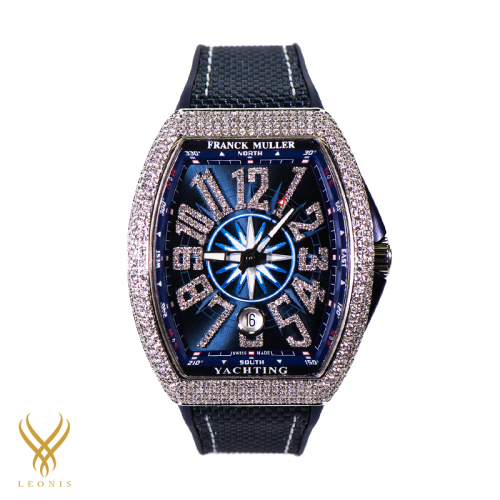 Franck Muller V41 SC Diamond Blue FKV41DM