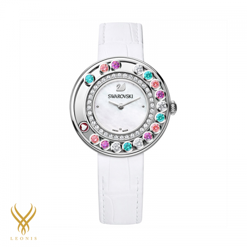 Lovely Crytals Multi Colored Watch 35MM